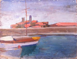 Barques à quai – Albert MARQUET
