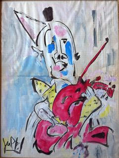 Clown Violoniste – Gen PAUL